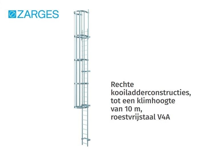 Kooiladder roestvrijstaal V4A | DKMTools - DKM Tools