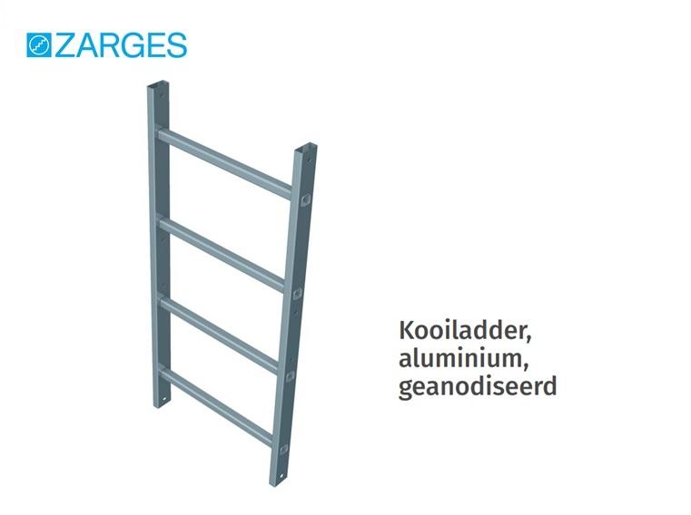 Kooiladder aluminium geanodiseerd | DKMTools - DKM Tools