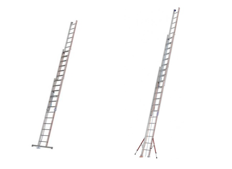 Driedelige opsteekladders | DKMTools - DKM Tools