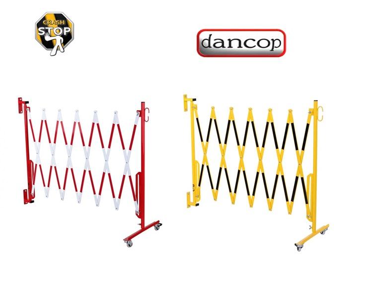 Schaar barriere met wielen en muurmontage | DKMTools - DKM Tools