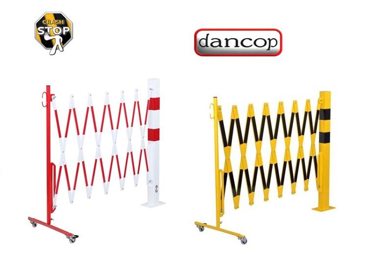 Schaar barriere met wielen-vierkant | DKMTools - DKM Tools