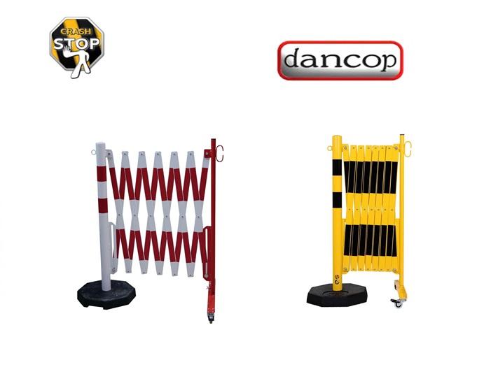 Schaar barriere met wielen-Voetplaat | DKMTools - DKM Tools