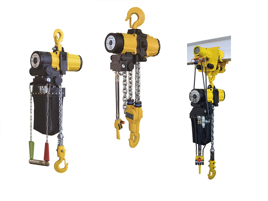 Pneumatische kettingtakel ATEX zone 2 | DKMTools - DKM Tools