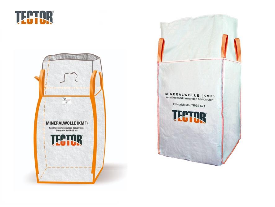 Glas- en Steenwol Big Bag 4 lussen | DKMTools - DKM Tools