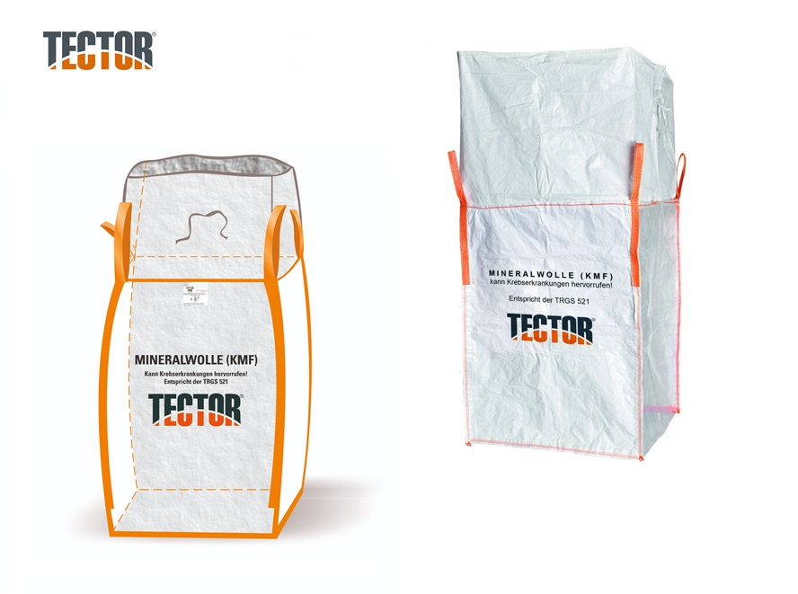 Glas- en Steenwol Big Bag transparant | DKMTools - DKM Tools