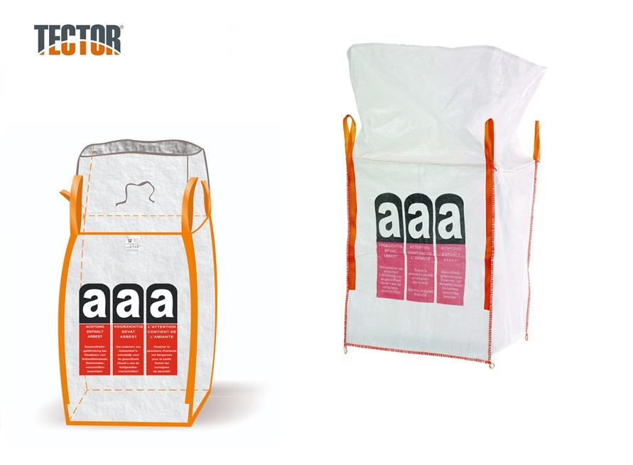 Asbest Big Bag met Vulschort | DKMTools - DKM Tools