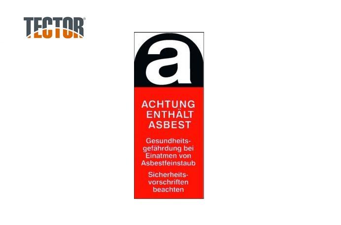 Asbest sticker | DKMTools - DKM Tools