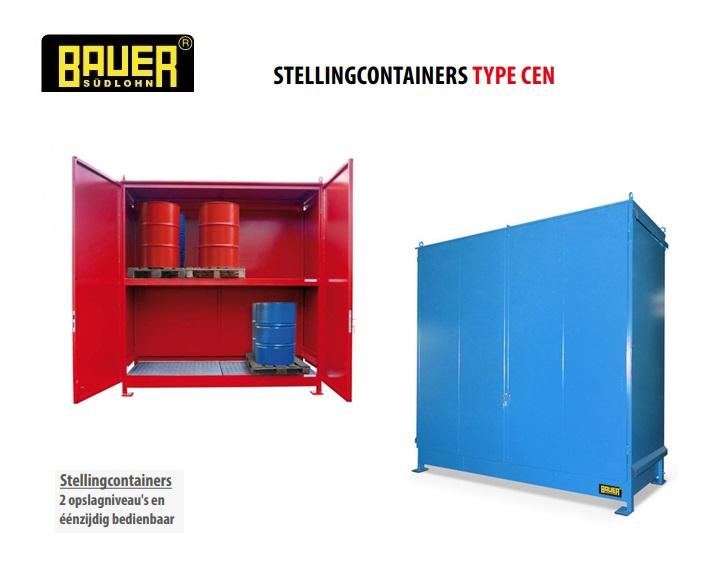 Stellingcontainers 2 opslagniveaus CEN | DKMTools - DKM Tools
