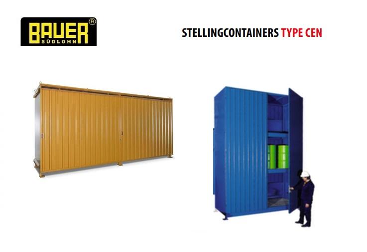 Stellingcontainers 3 opslagniveaus CEN | DKMTools - DKM Tools