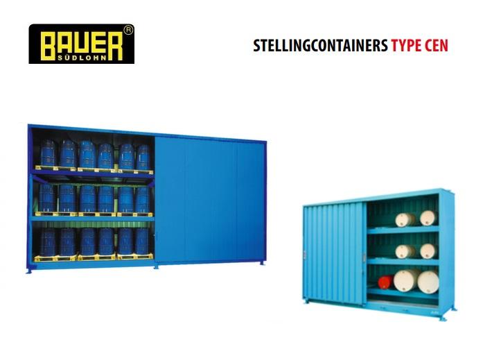 Stellingcontainers 3 opslagniveaus Schuifdeur | DKMTools - DKM Tools