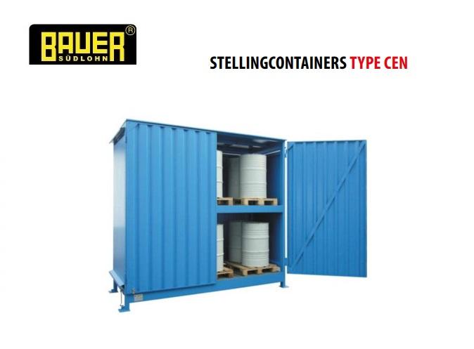 Stellingcontainers 2 opslagniveaus | DKMTools - DKM Tools