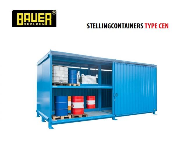Stellingcontainers 2 opslagniveaus Schuifdeur | DKMTools - DKM Tools