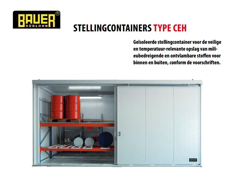 Geisoleerde stellingcontainer CEH | DKMTools - DKM Tools