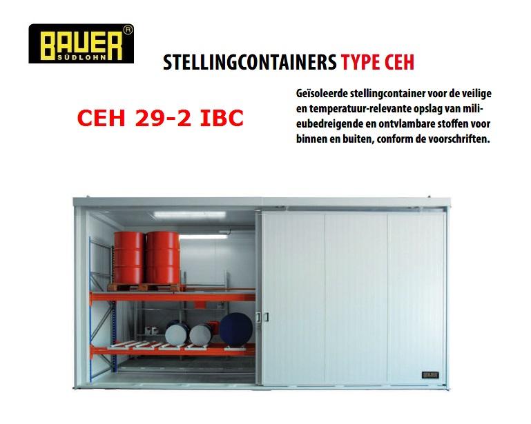 Geisoleerde stellingcontainer CEH 29-2 IBC | DKMTools - DKM Tools