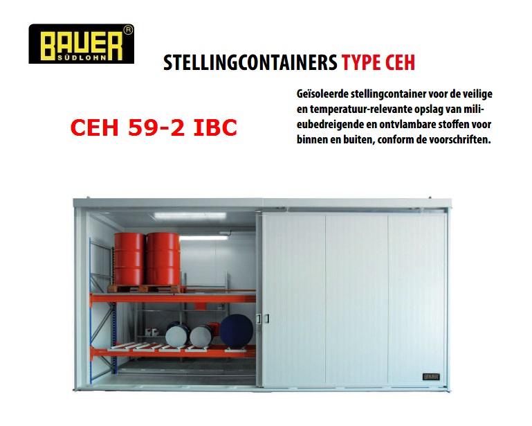 Geisoleerde stellingcontainer CEH 59-2 IBC | DKMTools - DKM Tools