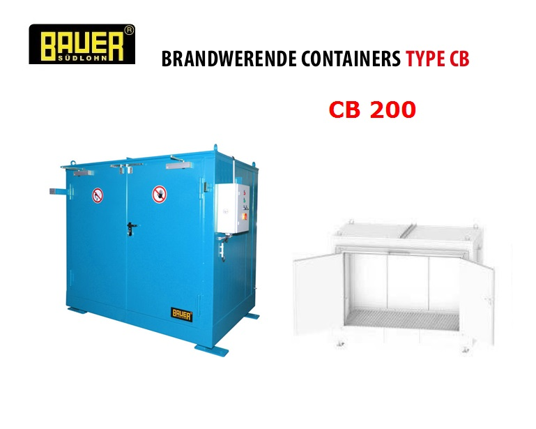 Brandwerende Containers CB 200 | DKMTools - DKM Tools