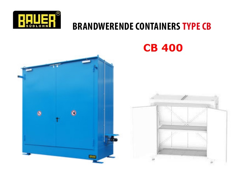 Brandwerende Containers CB 400 | DKMTools - DKM Tools