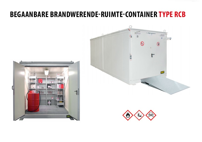 Depot brandwerende container RCB | DKMTools - DKM Tools
