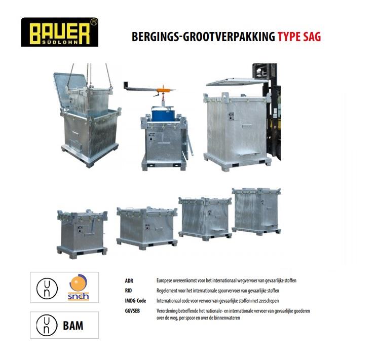 Bergings-grootverpakkingcontainer SAG | DKMTools - DKM Tools