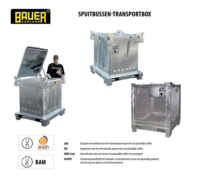 Speciaal-afvalcontainer voor spuitbussen | DKMTools - DKM Tools