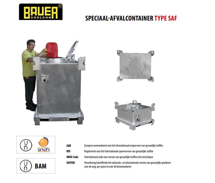 Speciaal-afvalcontainer SAF | DKMTools - DKM Tools