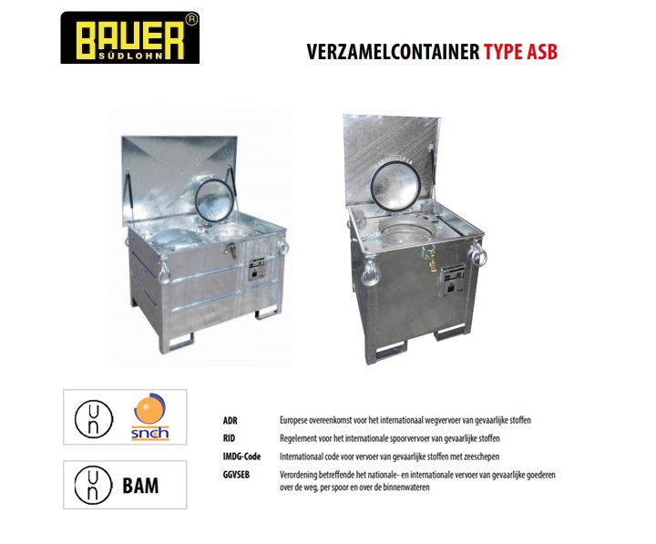 Verzamelcontainer ASB | DKMTools - DKM Tools
