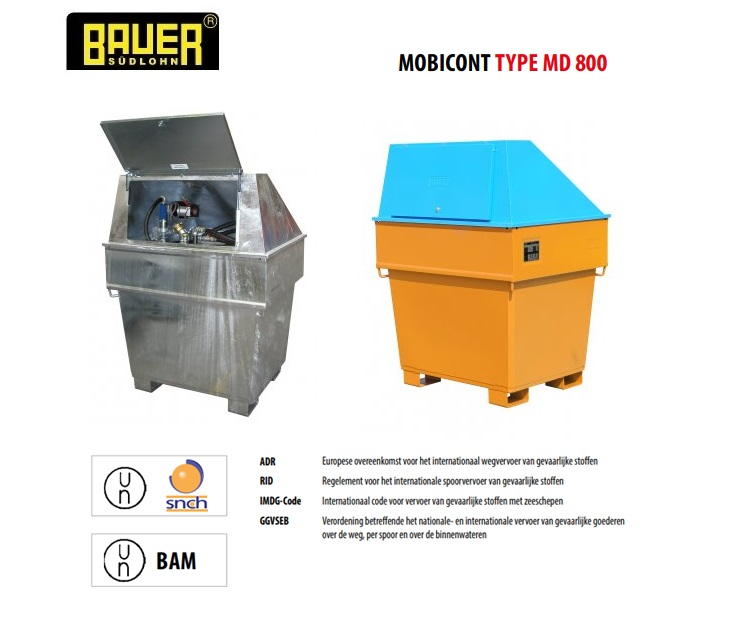 MobiCont MD 800 | DKMTools - DKM Tools