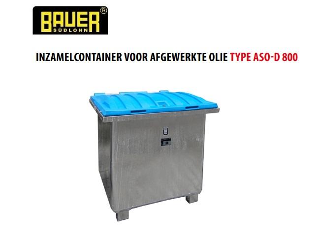 Inzamelcontainer voor afgewerkte olie ASO-D 800 | DKMTools - DKM Tools