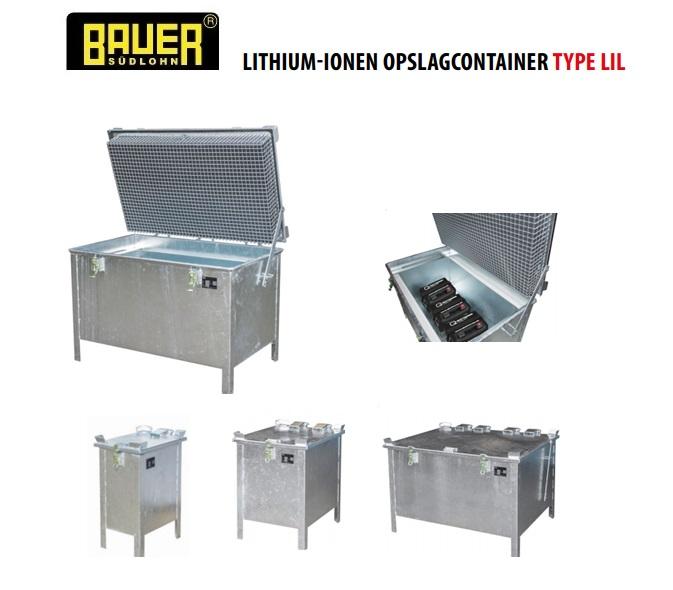 Lithium-ionen opslagcontainer | DKMTools - DKM Tools