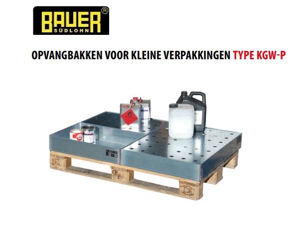 Opvangbak voor kleine verpakkingen op pallets | DKMTools - DKM Tools