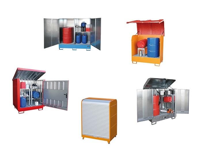 Depots gevaarlijke stoffen | DKMTools - DKM Tools