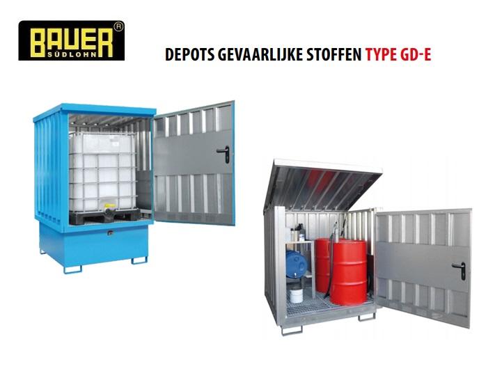 Depots gevaarlijke stoffen GD-E | DKMTools - DKM Tools