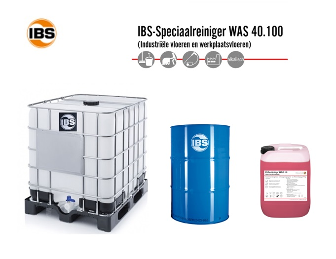 IBS-Speciaalreiniger WAS 40.100 Vloerenreiniger | DKMTools - DKM Tools