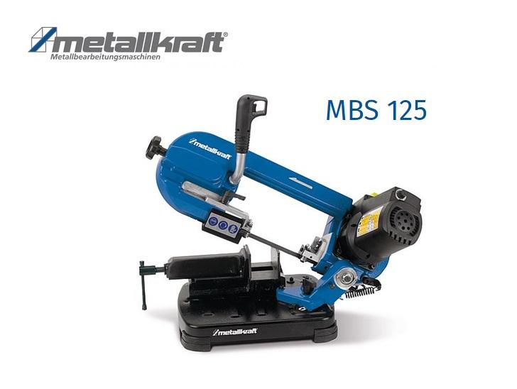 Metaalbandzaag MBS 125 | DKMTools - DKM Tools