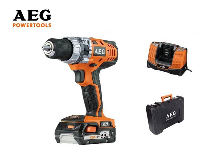 AEG Klopboormachine Compact BSB 18 402C   DKMTools - DKM Tools