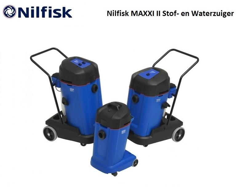 Nilfisk MAXXI II Stof- en Waterzuiger | DKMTools - DKM Tools