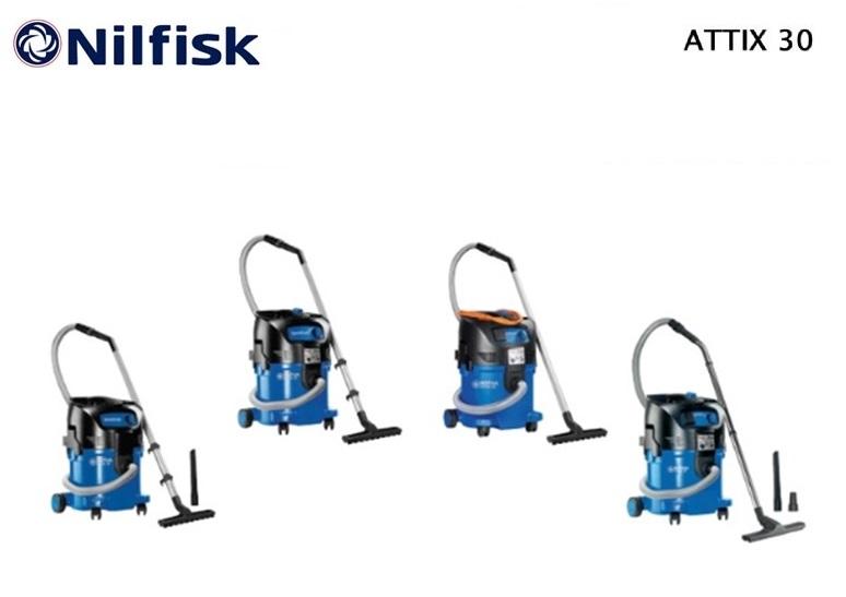 Nilfisk ATTIX 30 nat-droogzuiger | DKMTools - DKM Tools