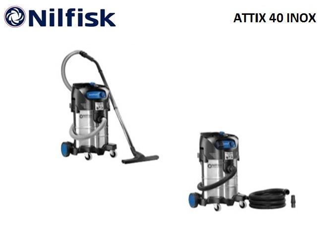 Nilfisk ATTIX 40 INOX nat-droogzuiger | DKMTools - DKM Tools