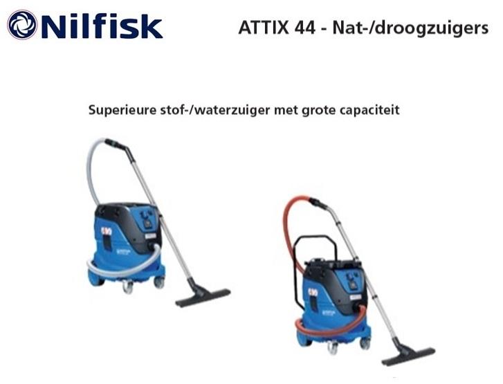 Nilfisk ATTIX 44 nat-droogzuiger | DKMTools - DKM Tools