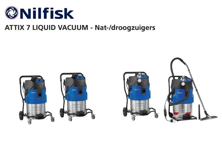 Nilfisk ATTIX 7 LIQUID VACUUM | DKMTools - DKM Tools