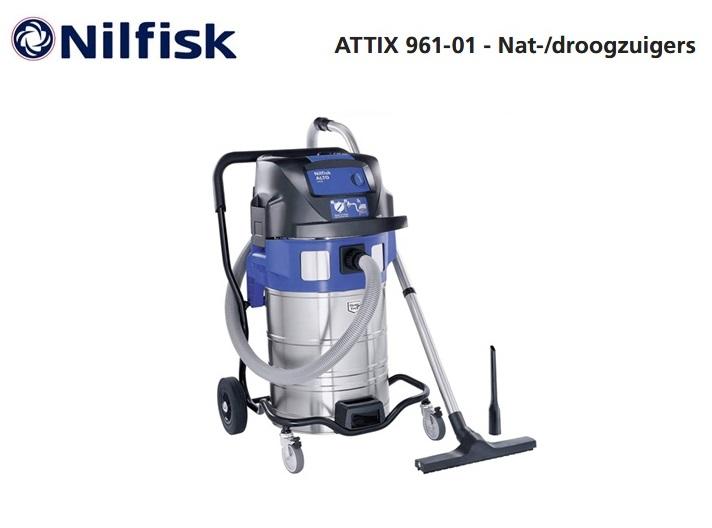 Nilfisk ATTIX 961-01 nat-droogzuiger | DKMTools - DKM Tools