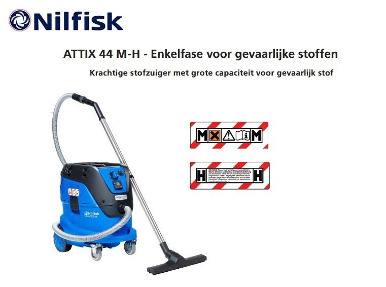 Nilfisk ATTIX 44 M-H stofzuiger | DKMTools - DKM Tools