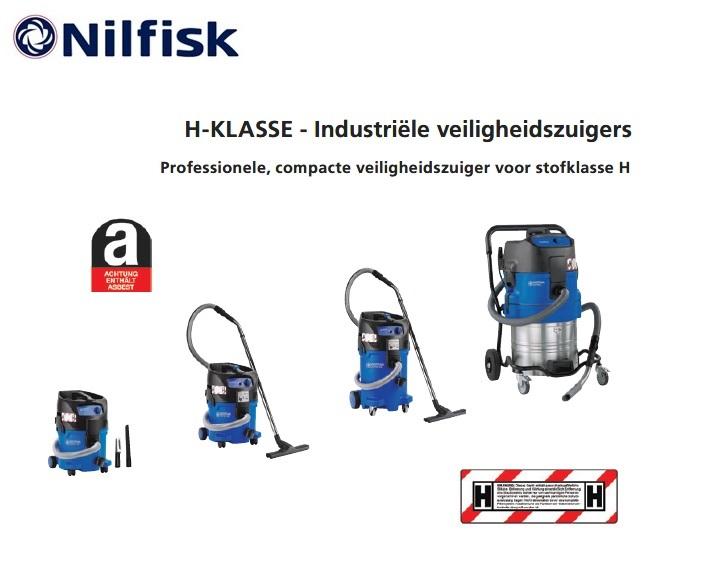 Nilfisk ATTIX H-KLASSE veiligheidszuiger | DKMTools - DKM Tools