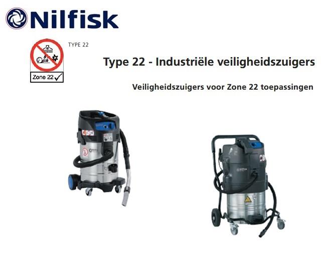 Nilfisk ATTIX Zone 22 stofzuiger | DKMTools - DKM Tools