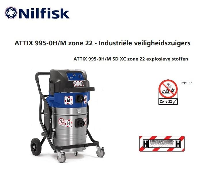 Nilfisk ATTIX 995 Zone 22 stofzuiger | DKMTools - DKM Tools