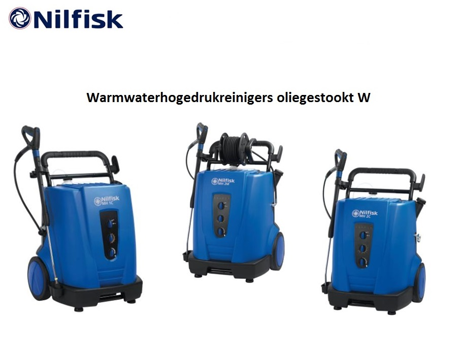 Warmwaterhogedrukreinigers oliegestookt W | DKMTools - DKM Tools
