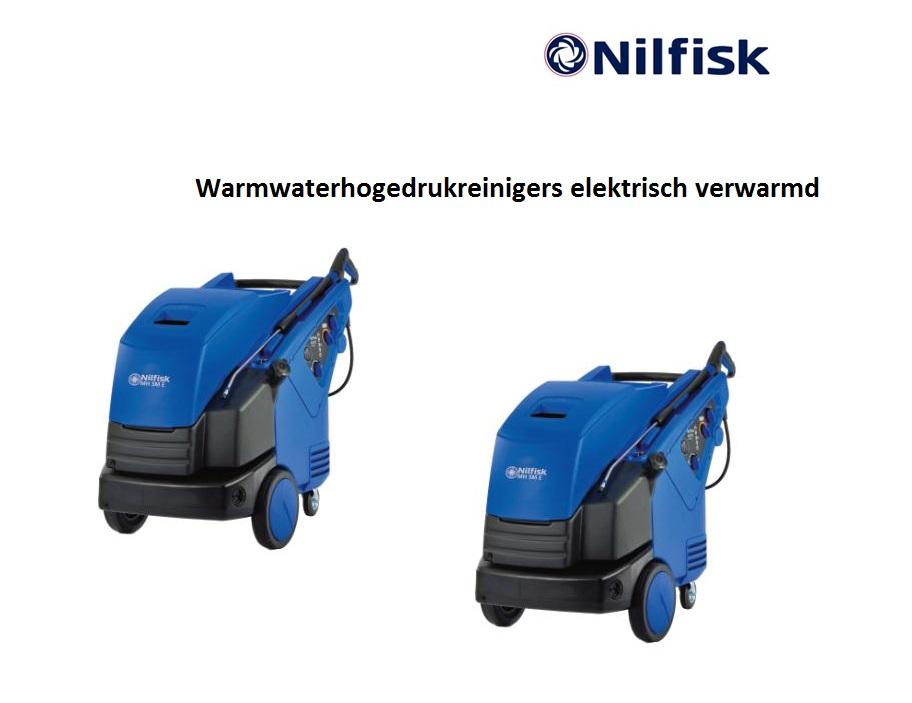 Warmwaterhogedrukreinigers elektrisch verwarmd | DKMTools - DKM Tools