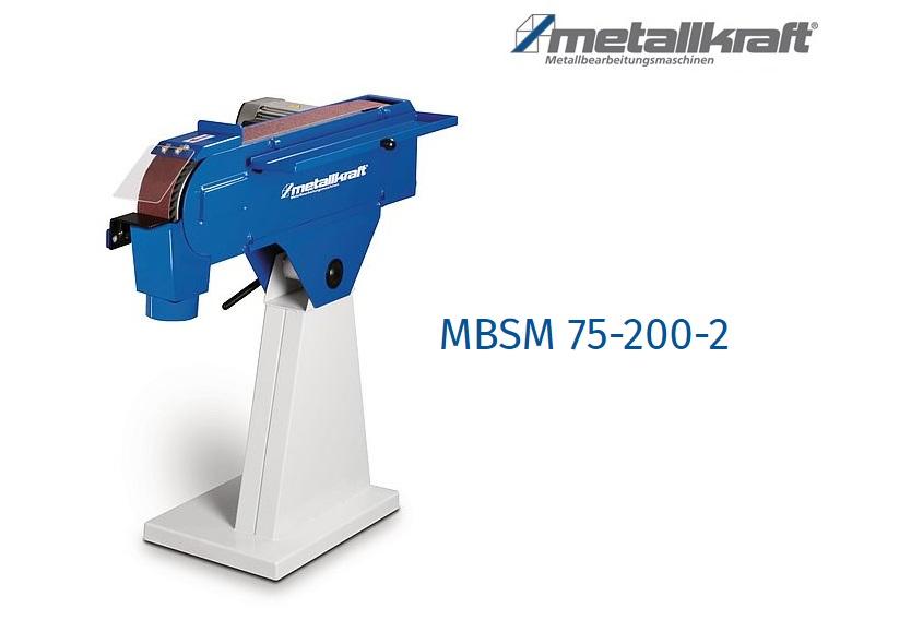 Bandschuurmachine MBSM 75-200-2   DKMTools - DKM Tools