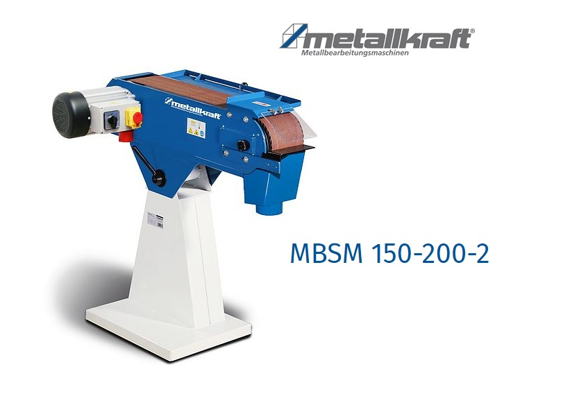 Bandschuurmachine MBSM 150-200-2   DKMTools - DKM Tools