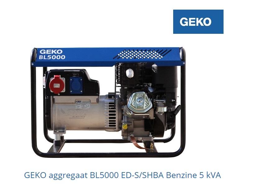 Aggregaat BL5000 E | DKMTools - DKM Tools